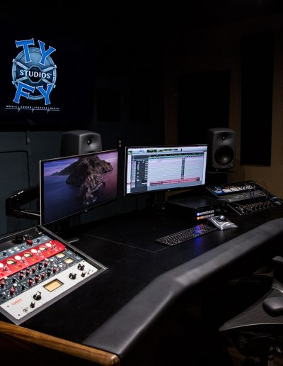 Ty Fy Studios Control Room